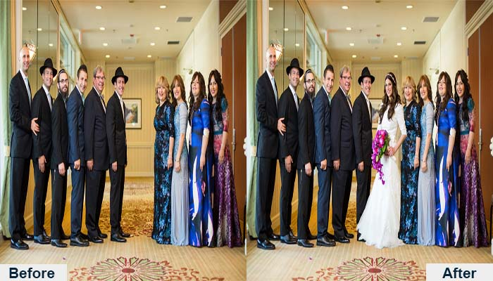 Wedding Photography Retouch