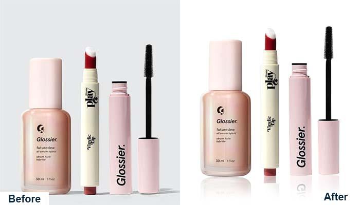 Cosmetics Photo Editing